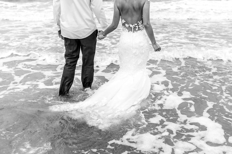 Mariage plage à Deauville de Marine et Hugo par un photographe de région centre dans le Loiret