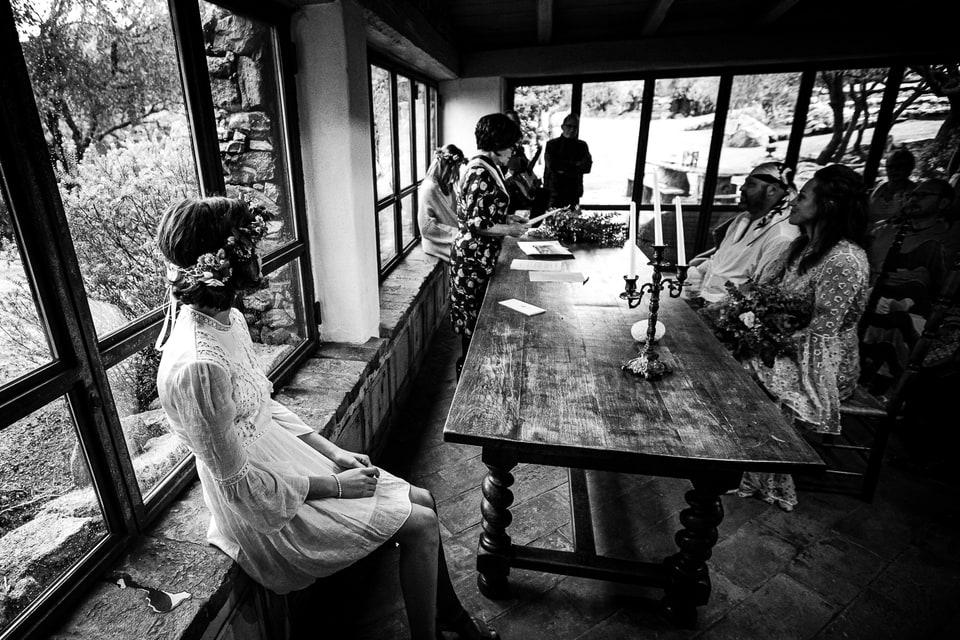 Mariage bohème chic au Domaine de Murtoli Corsica par un photographe de région Centre val de Loiret à Orléans et Gien