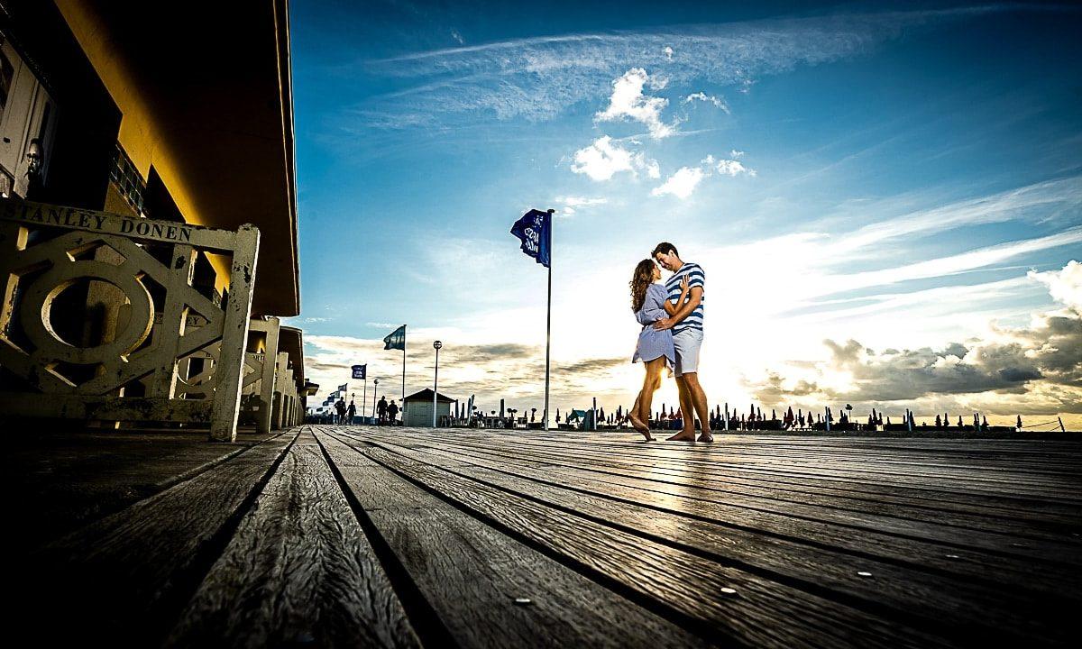 Save the date à Deauville pour un Mariage à Paris par un photographe haut de gamme de la Région Centre Val de Loire à Orléans et Montargis dans le Loiret en France