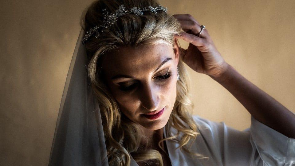 Belle mariée lors de son reportage mariage par un photographe haut de gamme