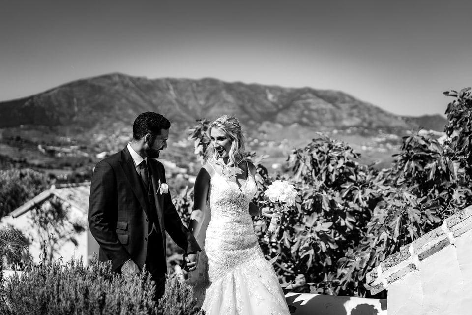Mariage haut de gamme luxe en Espagne par un photographe de France