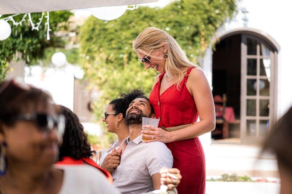 Brunch Wedding haut de gamme luxe de Anika et Didier par un photographe de mariage du Loiret