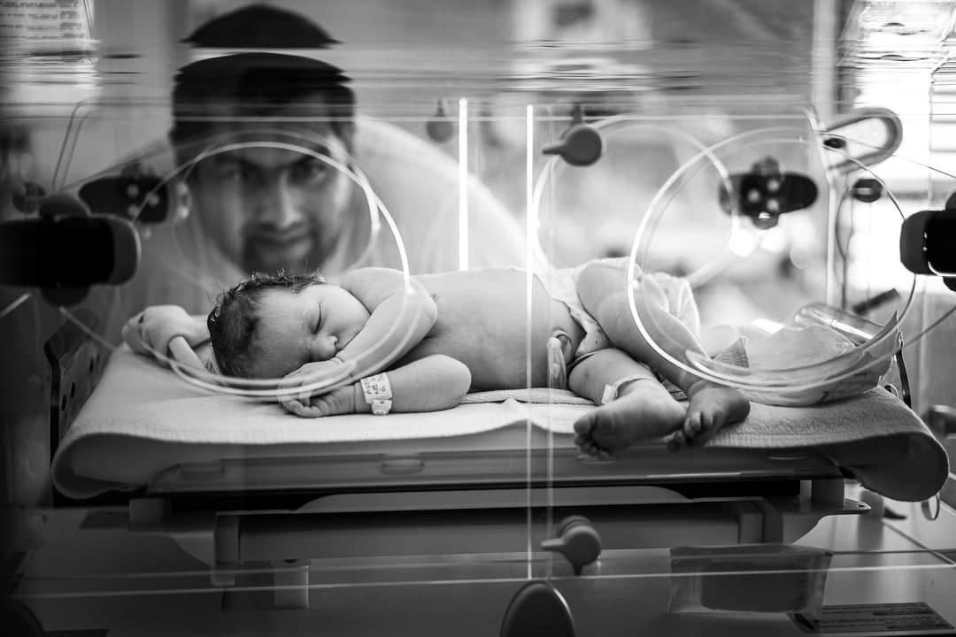 Photographe accouchement maternité de Gien Loiret France Orléans