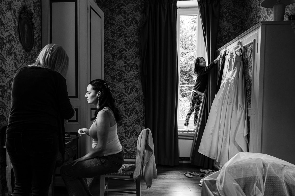 Photographe documentaire Photo-reportage mariage Loiret