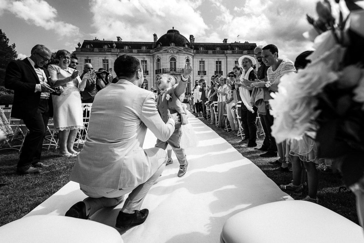 Photographe documentaire Photo-journalisme mariage Loiret Chateau Pont Chevron