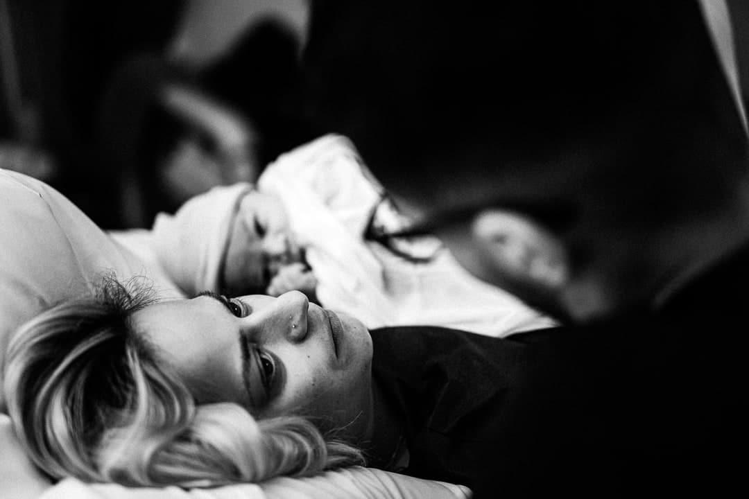 Photographe reportage accouchement à la maternité de Gien et Lorris Loiret Centre Val de Loire