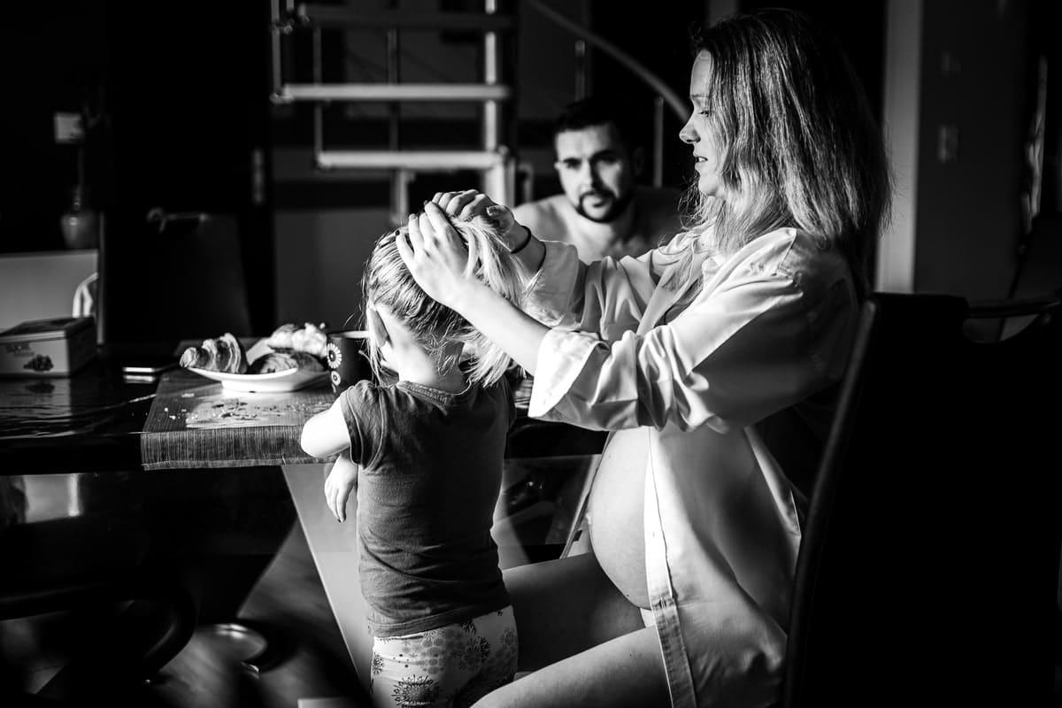reportage famille Loiret maternité Gien photographe naissance bébé grossesse lifestyle